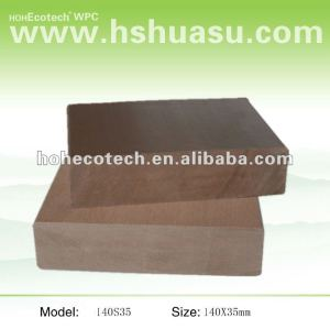 Good quality WPC material solid Walkboard decking (CE ISO9001 ISO14001 ASTM ROHS)
