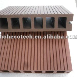 Easy installation high quality wpc hollow decking (CE ROHS)