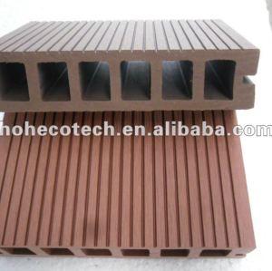 Fácil instalación de alta calidad hueco wpc decking ( ce rohs )