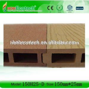 WPC decking/hollow wpc decking floor /composite floor