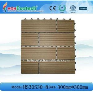 floor tile eco-friendly wood plastic composite