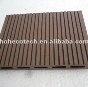 Facile installazione di alta qualità di wpc decking vuoto ( ce rohs )