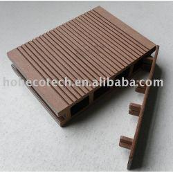 木製のプラスチック合成のPEのデッキボード