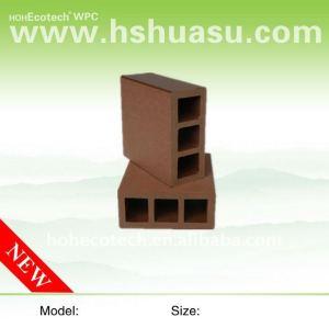 decking de 90*40mm WPC/balustrade composés en plastique en bois de plate-forme wpc de plancher (CE, ROHS, ASTM, OIN 9001, OIN 14001, Intertek)