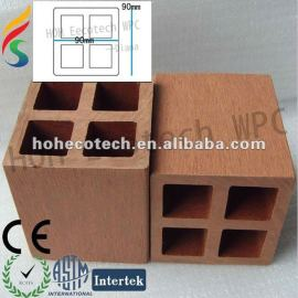 Hot sell !Water proof (Wood plastic composite) wpc post for outdoor steps/railing post/stair post