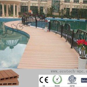 Umweltfreundlicher WPC dekorativer zusammengesetzter Bodenbelag