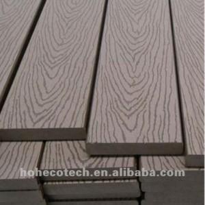 Long life recycled plastic wood flooring