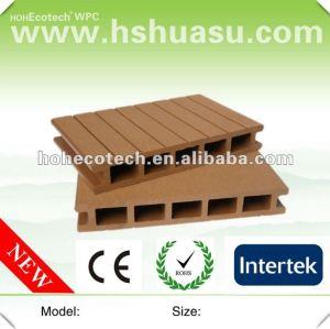 Decking composto plástico de madeira resistente da água da qualidade superior
