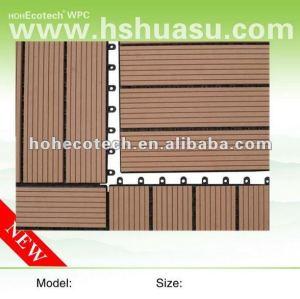 Nessun inquinamento 100% riciclabile suana wpc bordo/bordo decking composito