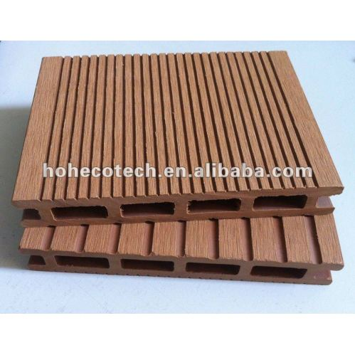 Artificial wood wpc material composite decking floor for 6 metre lengths of decking