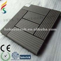 Venda quente! Bom design wood plastic composite deck telha ( com certificados )