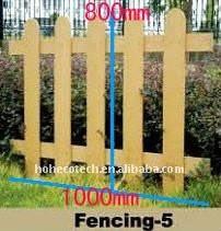 matériel de combinaison/décoration de clôture-wpc de jardin