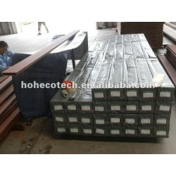 耐久の熱い販売の木製のプラスチック合成の屋外のフロアーリング(水証拠、紫外線抵抗、抵抗腐敗するおよびひび)