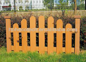 Easily Fabricated Leisure Garden fencing/Wood plastic composite fencing