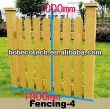 Grano di legno e legno da giardino in plastica bordo fening/pavimenti in laminato