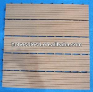 wood decking/wooden decking tile