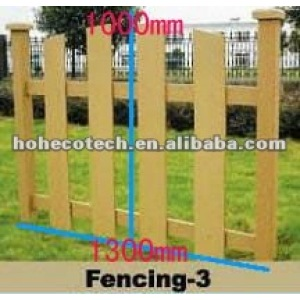 HOH Ecotech popular water-proof wpc outdoor fencing