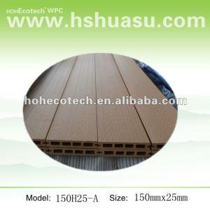 Bois de Recycable et plancher/decking composés en plastique (imperméabilisez/Wormproof/Anti-UV/résistant pour se décomposer et le moule)