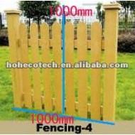 1000*1000mmの防水wpcの屋外の塀