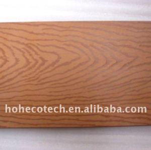 langue de 150x25mm et decking en bois de cannelure avec des textures