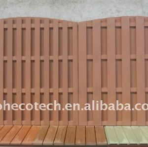 cheap wood fence (wpc fencing)