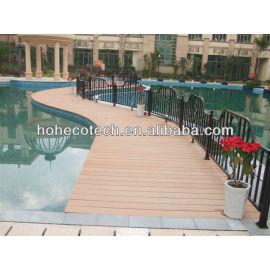 new material wpc(wood plastic composite) Decking /flooring (CE, ROHS, ASTM,ISO9001,ISO14001, Intertek) Composite Decking