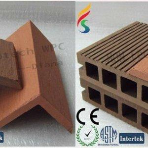 튼튼한 뜨거운 판매 목제 플라스틱 합성 decking 부속품 (물 증거, UV 저항, 저항 썩을 것이다 및 균열)