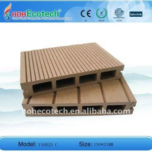 Plastique en bois de plate-forme de marina