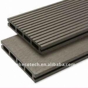 Decking du plancher WPC/plate-forme composés en plastique en bois d'intérieur composé de plancher