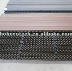 Wood Plastic Composite building material outdoor Flooring board WPC Composite outdoor WPC DIY deck tile