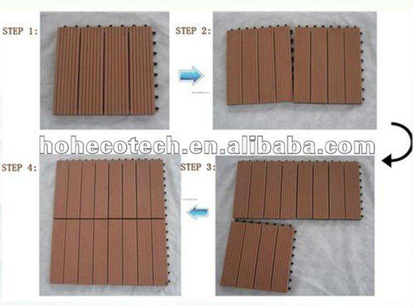 Wood Plastic Composite Building Material Outdoor Flooring