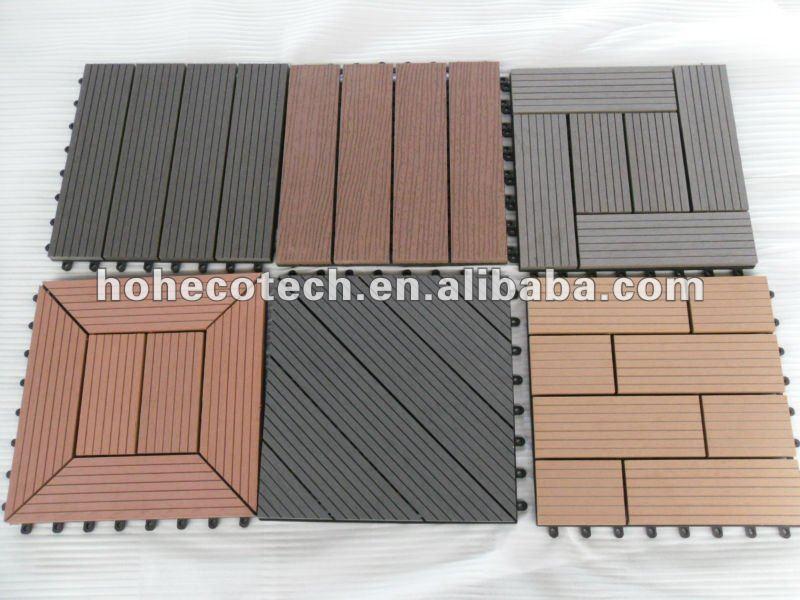 Wood plastic composite building material outdoor flooring for Deck building materials