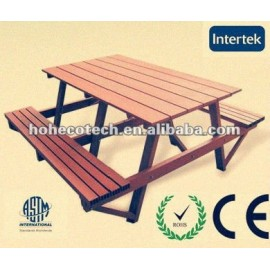 wood plastic composite leisure chair/outdoor/garden CE approved