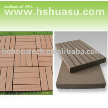 wpc decking eco-friendly wood plastic composite decking/floor tile