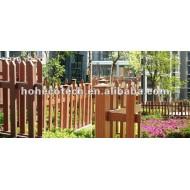 熱い、低価格、自然な、木製のプラスチック囲う柵