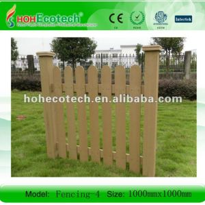 WPC outdoor/playground fencing