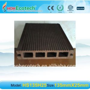 Wood Plastic Composite Decking WPC DECKING board wpc outdoor flooring