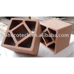 木製のプラスチック合成のポスト