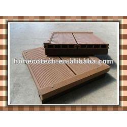 屋外のタケまたは木decking、環境に優しいwpcの床板(ISO9001)