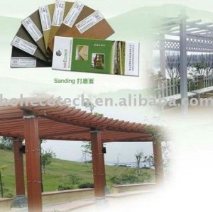 wood composite patio pergola