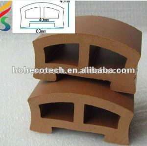 Eco-friendly wood plastic composite(wpc) profiles or post,wood fiber,anti-UV,moisture posts