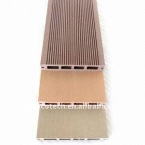 Possibilités de décoration de plancher de /outdoor de ménage de meilleures que le decking composé de plancher en bois/le decking wpc de plancher