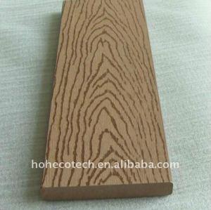 выбивая эко - дружественных wpc плитки настила деревянный пластичный составной настил