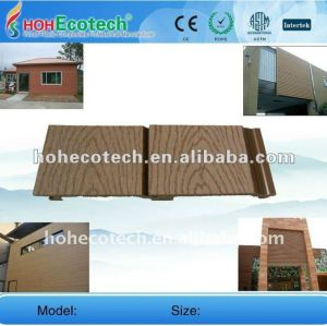 Decorative outdoor wall panel exterior WPC wall panel