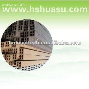 matériaux de clôture de wpc, poteau de wpc