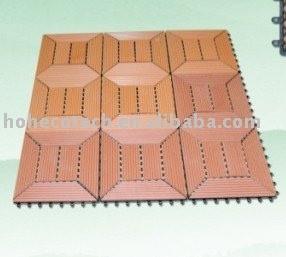 блокировки и водонепроницаемый wpc diy плитки