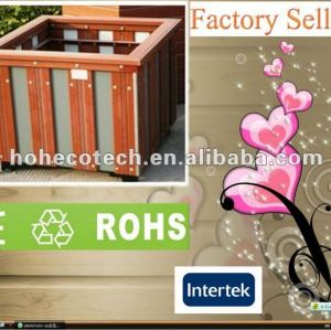 Promoção! Reciclado de água - a prova de decoração wpc jardim caixa de flor ( ce rohs )