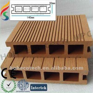 Eco- amicalequalité extérieur platelage en bois d'approvisionnement de produits en plastique