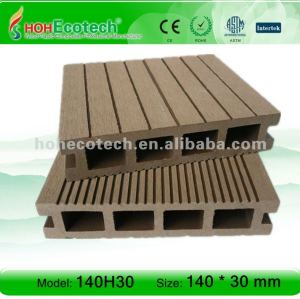 Easy installing WPC composite decking timber