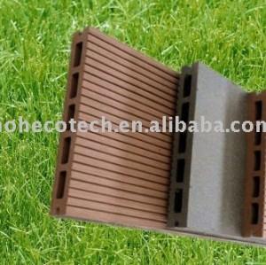 Wpc decking compuesto de piso para el piso al aire libre, sala de lavado, balcón wpc bricolaje cerámica nuevo material de madera- de plástico compuesto de piso